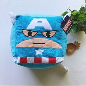 Home • Marvel Captain America Kids Bean Bag Pouf
